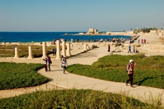 Palace ruins at Caesarea