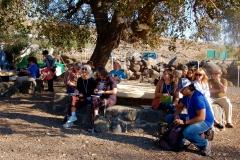 Teaching at Chorazin
