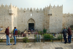 Damascus Gate at Jerusalem