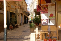 Old city of Jerusalem streets