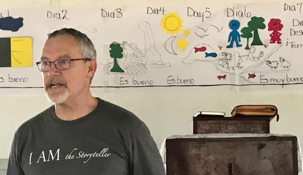 storying, storyteller, wayuu tribe, unreached people group, illiterate, David Lawson, inductive bible study